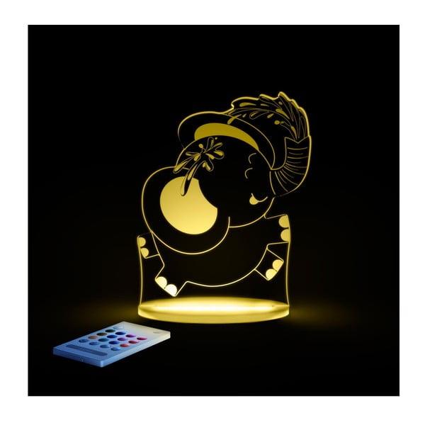Dziecięca lampa nocna LED Aloka Słoń
