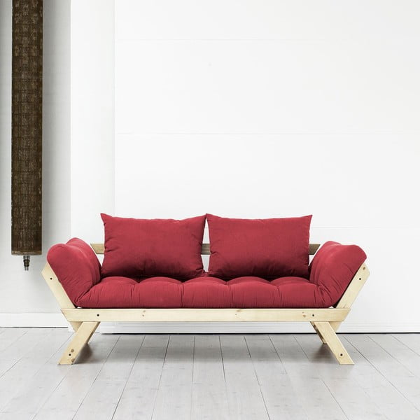 Sofa Karup Bebop Natural/Bordeaux