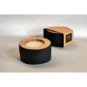 Palmowa świeczka Legno Palma o zapachu wanilii i paczuli, 40 godz.