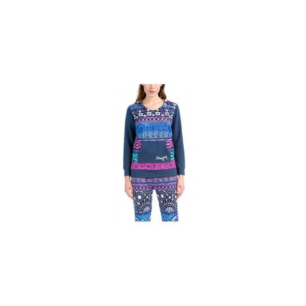 Damska pidżama góra DESIGUAL Folk Denim, roz. L/XL
