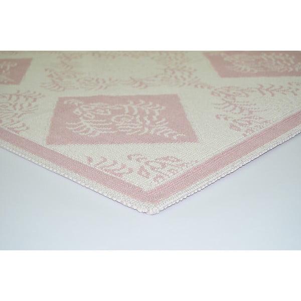 Pudrowy wytrzymały dywan Azalea, 120x180 cm