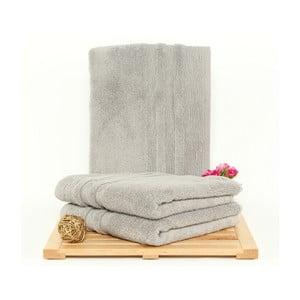 Zestaw 3 ręczników Hidrophile Grey, 50x100 cm