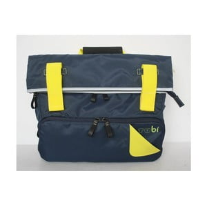 Torba/plecak Slim Case TUbí, niebieski/żółty
