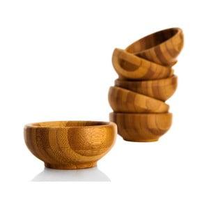 Zestaw 6 miseczek na dip z bambusu Bambum Lepa