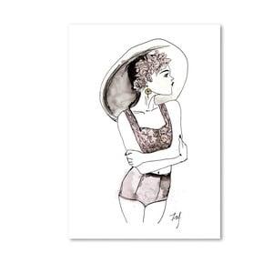 Plakat Leo La Douce Summervibes, 21x29,7cm