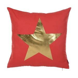 Czerwona poszewka na poduszkę Apolena Star, 45x45 cm