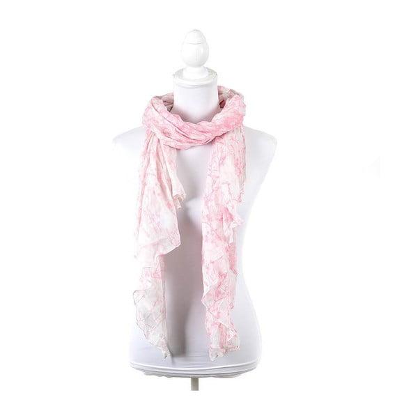 Chusta/pareo BLE Inart 100x180 cm, różowa