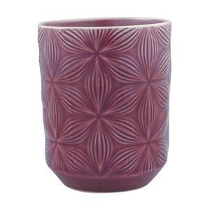 Fioletowy kubek ceramiczny Green Gate Kallia