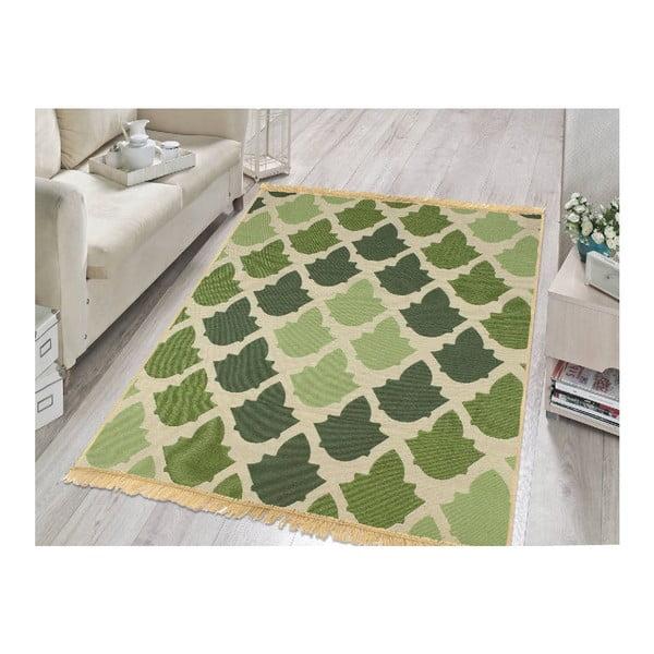 Zielony dywan Floorist Baklava Green, 80x150 cm