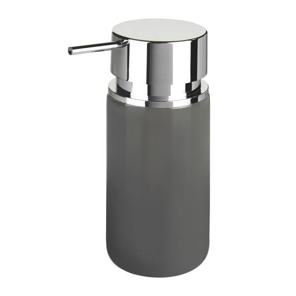 Szary ceramiczny dozownik do mydła Wenko Soap, 250 ml