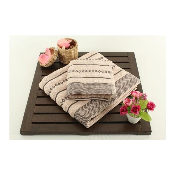Zestaw 2 ręczników Bombeli Powder