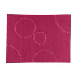 Mata stołowa Pink Circle, 40x30 cm