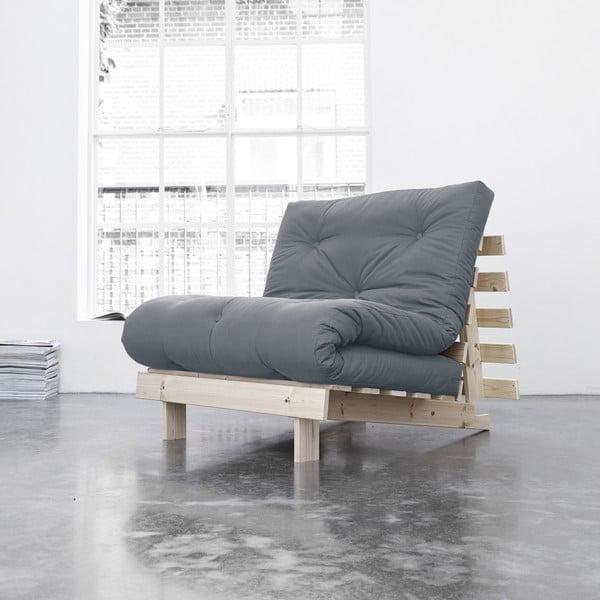 Fotel rozkładany Karup Roots Raw/Gris