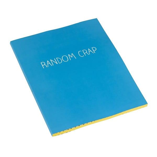 Duży zeszyt Happy Jackson Random Crap z matową powierzchnią