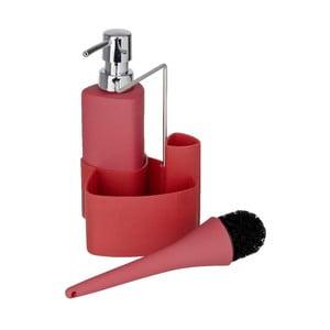 Czerwony zestaw do mycia naczyń Wenko Empire