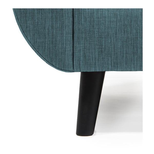 Niebieska sofa 3-osobowa Vivonita Harlem
