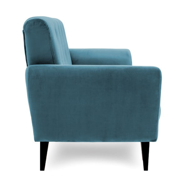 Niebieska sofa trzyosobowa Vivonita Klara