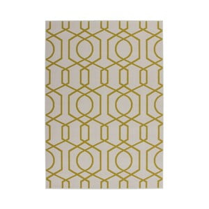 Żółty dywan Kayoom Stella 400, 80x150 cm