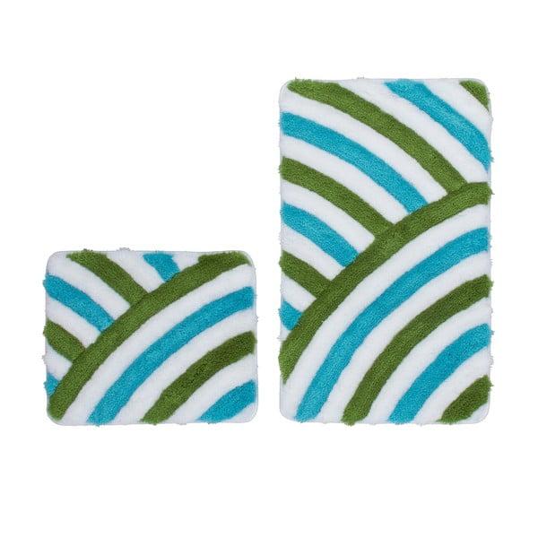 Zestaw 2 dywaników łazienkowych Lobby Aqua