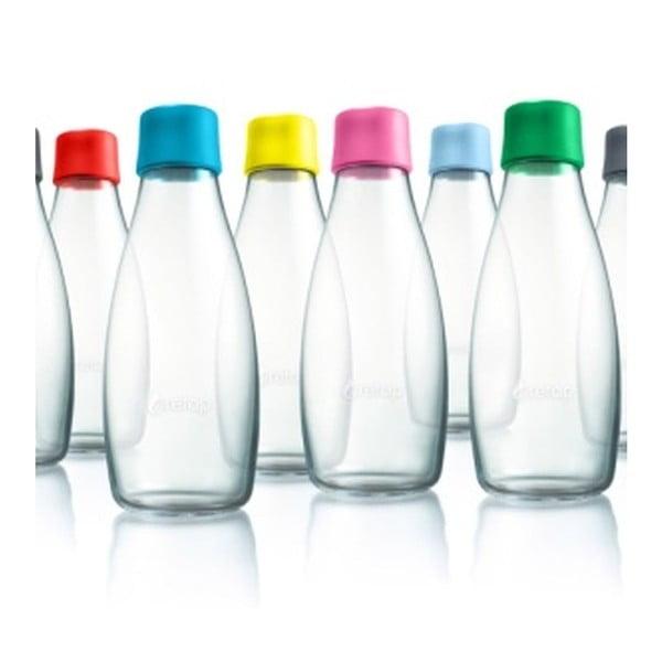 Czerwona butelka ze szkła ReTap z dożywotnią gwarancją, 500 ml