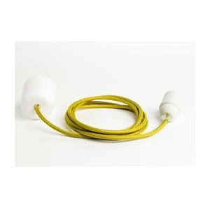 Kolorowy kabel Loft, oliwka