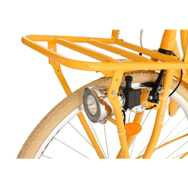 """Rower Tussaud Bike Orange, 28"""", wysokość ramy 54 cm"""