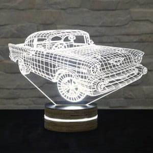 Lampa 3D stołowa Super Car