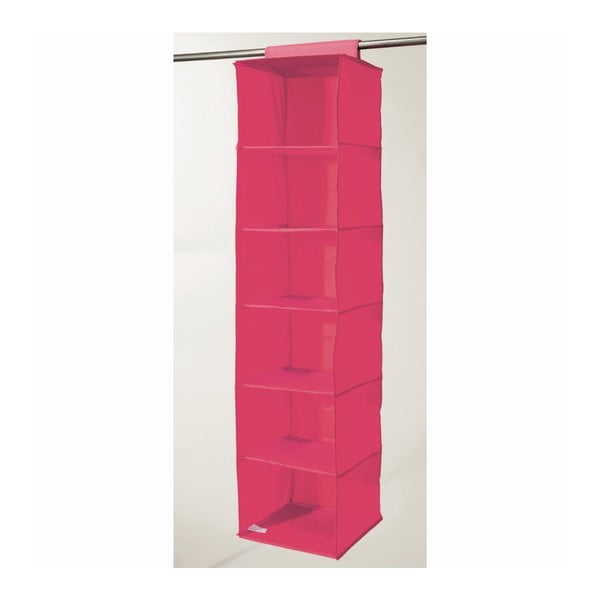 Organizer materiałowy Compactor Garment Hot Pink 6 Rack