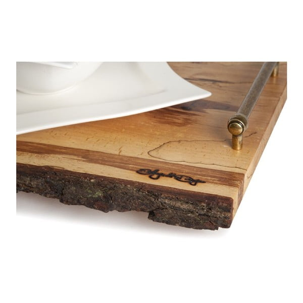 Taca drewniana B&B
