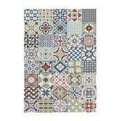 Niebieski dywan Universal Azulejos, 200x290 cm