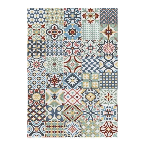 Niebieski dywan Universal Azulejos, 120x170 cm