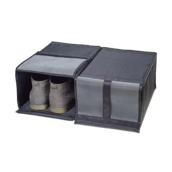Zestaw 2 pojemników na buty Jocca Shoe Box, 34x22 cm