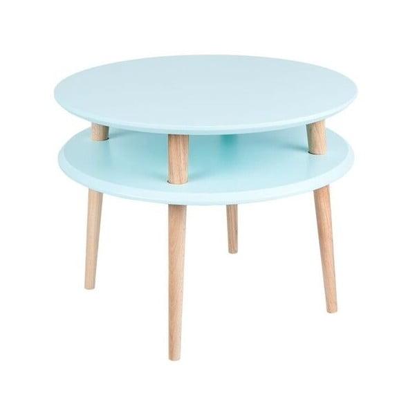 Jasnoturkusowy stolik Ragaba UFO, Ø 57 cm