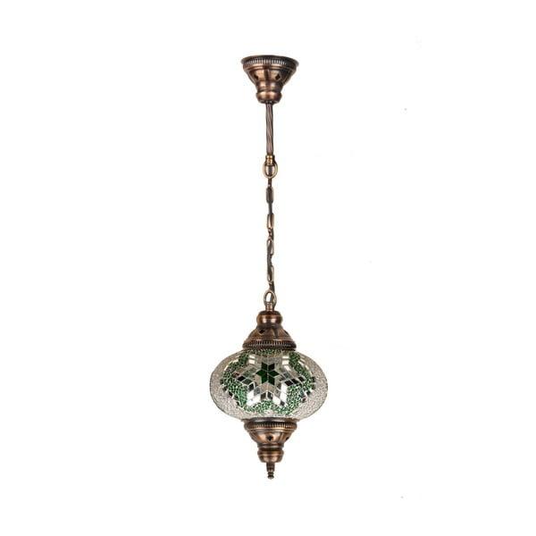 Szklana lampa wisząca Single XII, 17 cm