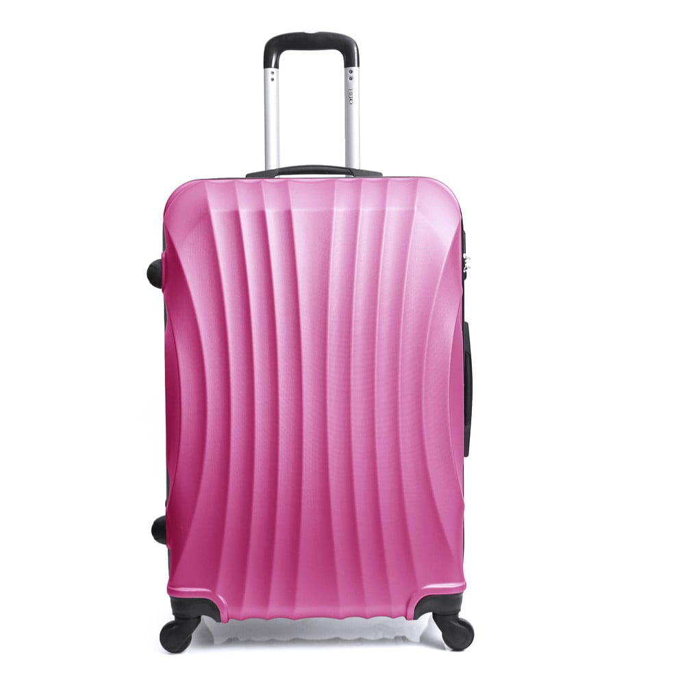 83b3b9f5db400 Różowa walizka na kółkach Hero Moscou-e, 31 l | Bonami
