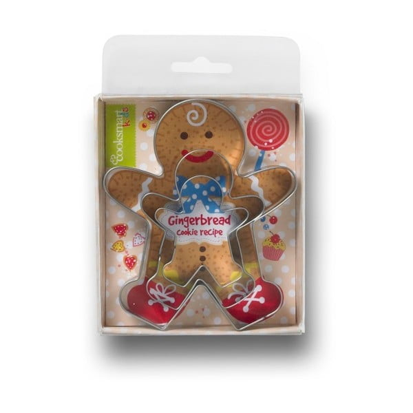 Zestaw 3 foremek do ciastek Cooksmart ® Gingerbread