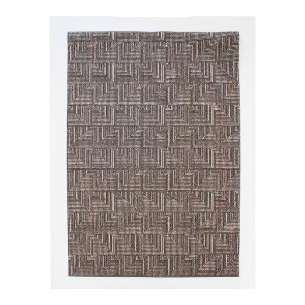 Dywan Pinnacle Dark Brown, 117x167 cm