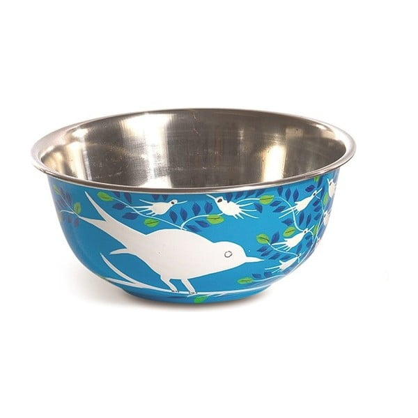 Miska Eva Hand Painted Bowl, jasnoniebieska