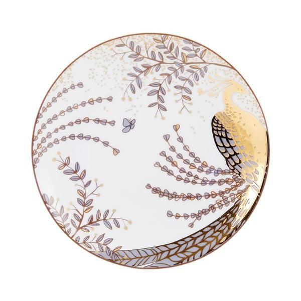 Komplet 6 talerzyków deserowych Accademia Peacock