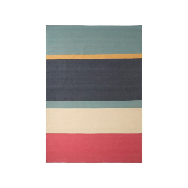 Dywan wełniany ręcznie tkany Linie Design Lux Rose,140x200cm