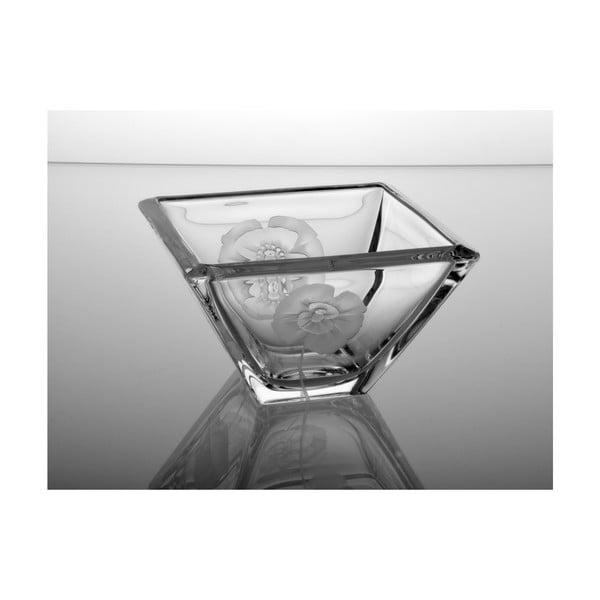 Kwadratowa miska Mak, 140 mm
