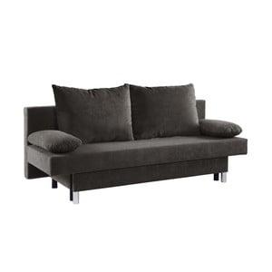 Ciemnoszara sofa rozkładana 13Casa Shade