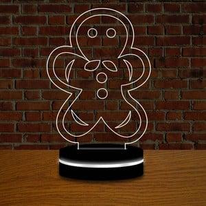 Lampa z efektem 3D Christmas no. 7