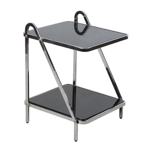 Piętrowy stolik Glass Metal