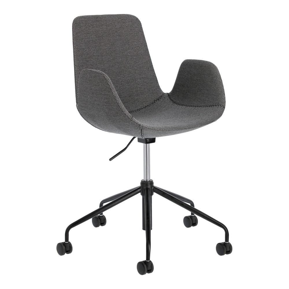 Szare krzesło biurowe La Forma Yasmin