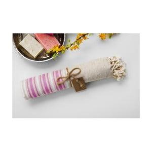Ręcznik hamam Katre Pink, 100x180 cm