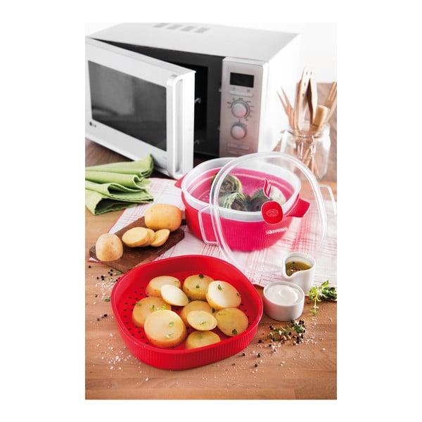 Zestaw do gotowania potraw w mikrofalówce Snips Steamer, 4l