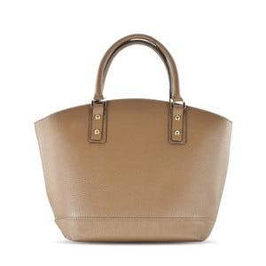 Skórzana torebka Sally, taupe (szarobrązowa)