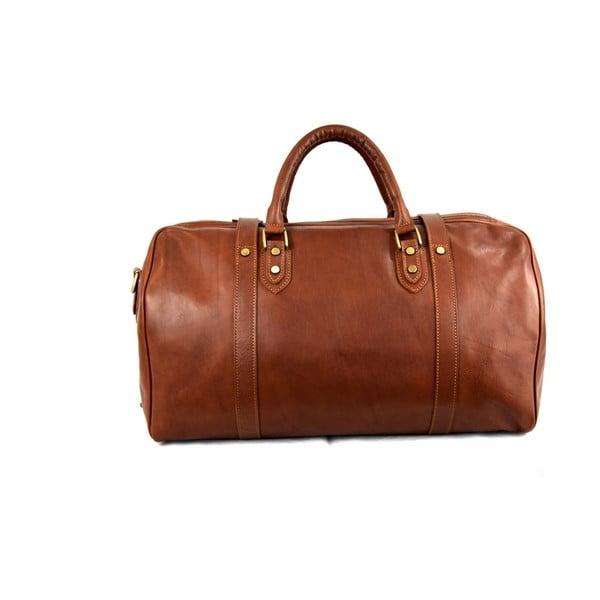 Skórzana torba Santo Croce 82936 Brown