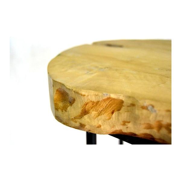 Stołek Round Wooden